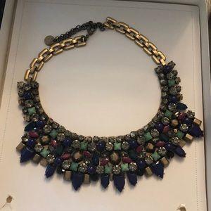 Stella and dot khalo LE bib necklace